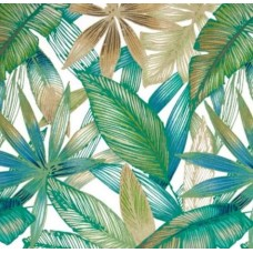 Cantrell Palm Natural Outdoor Fabric