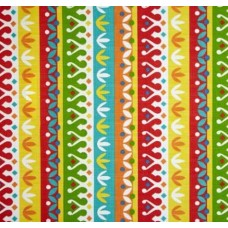 Decorative stripe Indoor Outdoor Fabric in Tropical Fabric Traders