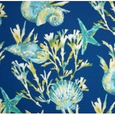 Reef View Indoor Outdoor Fabric in Blue