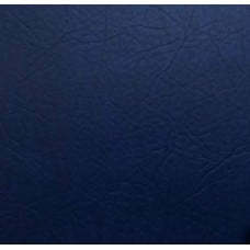 REMNANT - Marine Vinyl Fabric in Textured Royal Blue