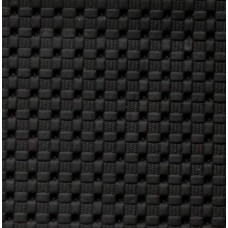 Marine Vinyl Fabric Weave Look in Black