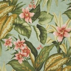 Tropical Mist Indoor Outdoor Fabric