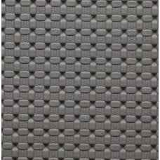 REMNANT - Marine Vinyl Fabric Weave Look in Grey Fabric Traders
