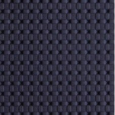 Marine Vinyl Fabric Weave Look in Navy