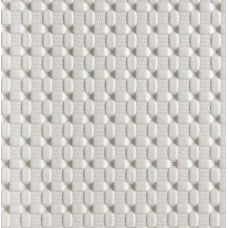 Marine Vinyl Fabric Weave Look in White Fabric Traders