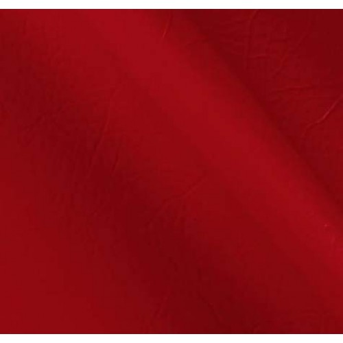 Marine Vinyl Fabric in Deep Red