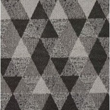 Venza Jacquard Outdoor Fabric in Black and Grey  Fabric Traders