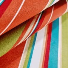Covert Stripe Solarium Outdoor Fabric in Breeze by Richloom