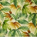 Foliage Leaves in Green Indoor Outdoor Fabric