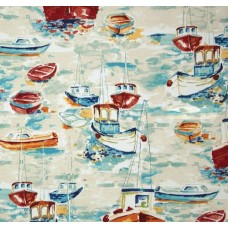 Down at the Bay Indoor Outdoor Fabric