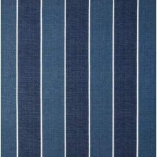 Stripe Patina Outdoor Fabric in Blues Fabric Traders