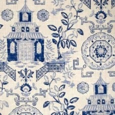 Teahouse Bluestone Luxe Home Decor Fabric Fabric Traders
