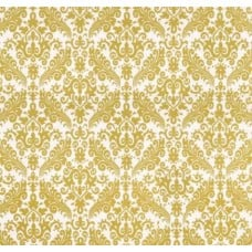 Gold Sparkle Damask Cotton Fabric by Riley Blake Fabric Traders