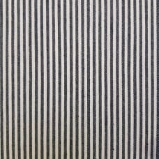 Denim Stretch Cotton Blend Fabric in Reversible Stripe  Fabric Traders