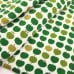 Jersey Knit Stretch Fabric in Apples Green Fabric Traders