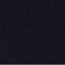 Corduroy Fine Wale Fabric in Navy
