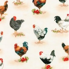 Down On The Farm Country Cotton Fabric by Robert Kaufman Fabric Traders