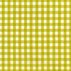Check Kitchen Window Wovens Cotton Fabric by Robert Kaufmann in Pickle