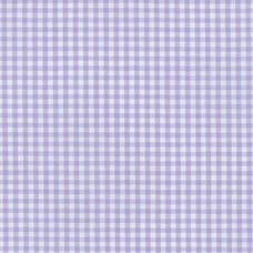 Gingham Cotton Fabric in Lavender Fabric Traders