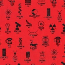 Science Fair Inventors Cotton Fabric by Robert Kaufman Fabric Traders