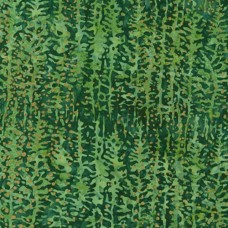 Artisan Batiks Twilight Snowfall Evergreen Cotton Fabric by Robert Kaufman