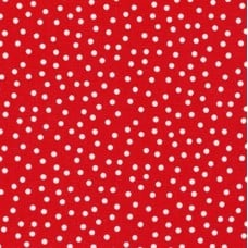 Remix Dots Mini in Red Cotton Fabric by Robert Kaufman