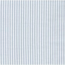 Lightweight Cotton Gauze Muslin Sevenberry Baby Basics in Grey Stripe Fabric Traders