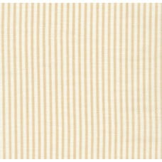Lightweight Cotton Gauze Muslin Sevenberry Baby Basics in Tan Stripe Fabric Traders