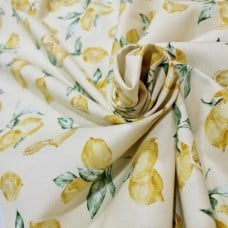 Limoncello Limoni in Lemon Cotton Fabric by Michael Miller Fabric Traders