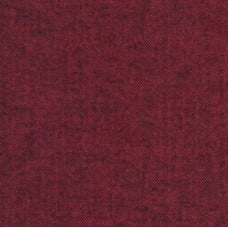 Flannelette Cotton Fabric Herringbone Redwood