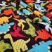 Urban Zoologie Dinosaurs Cotton Fabric Fabric Traders