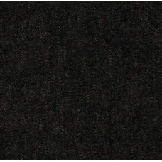 Denim Fabric Washed In Black