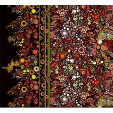 Effervescence Autumn Cotton Fabric by Robert Kaufman