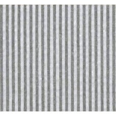 Seersucker Stripe Cotton Fabric in Grey and White Fabric Traders