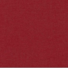 Denim Cotton Blend Fabric in Crimson