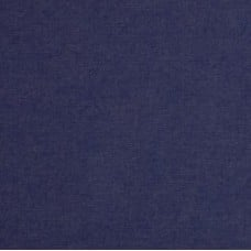 Denim Cotton Blend Fabric in Indigo