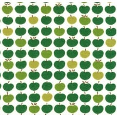 Jersey Knit Stretch Fabric in Apples Green