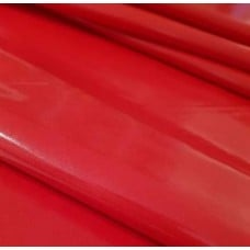 Laminated Gloss Finish Waterproof Fabric in Red