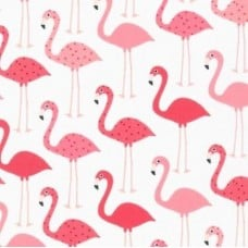REMNANT  - Flamingo Urban Zoologie Cotton Fabric