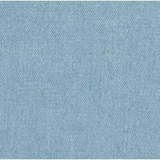 Denim Fabric Washed In Bleached Blue