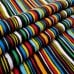 Stripes on Black Clothing, Craft and Apparel Cotton Fabric Fabric Traders