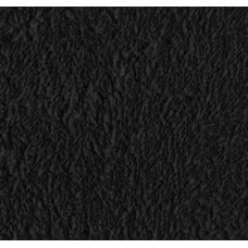 Terry Towelling Black 100% Cotton Luxury Fabric