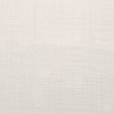 Double Gauze  Muslin Solid Embrace Fabric in Ivory