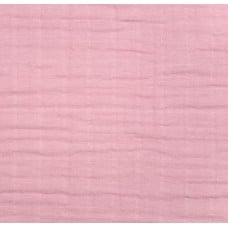 Double Gauze  Muslin Solid Embrace Fabric in Rose