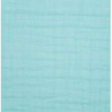 Double Gauze  Muslin Solid Embrace Fabric in Saltwater Fabric Traders
