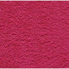 Terry Towelling Hot Pink 100 Cotton Luxury Fabric Fabric Traders