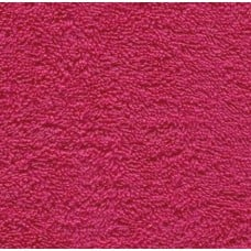 Terry Towelling Hot Pink 100% Cotton Luxury Fabric