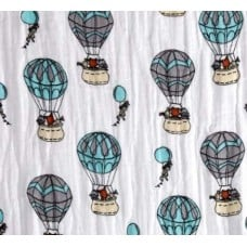 Lightweight Cotton Gauze Muslin Fabric Air Balloons Fabric Traders