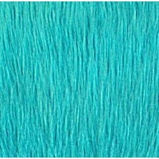 Faux Fur Luxury Shag Fabric in Turquoise
