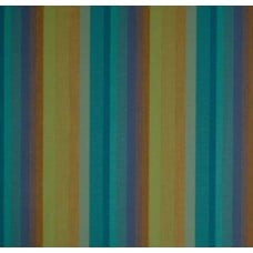 Stripe Luxe Outdoor Fabric in Lagoon Fabric Traders